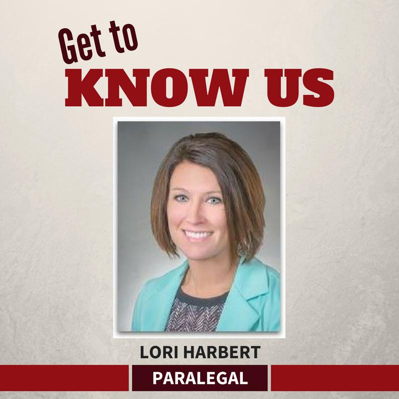 Lori Harbert Paralegal