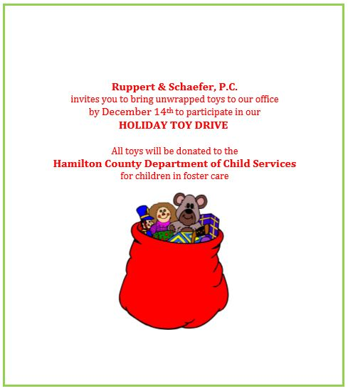 RS Holiday Toy Drive Flyer